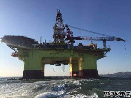 """大船集团""""海洋石油982""""出港试航"""