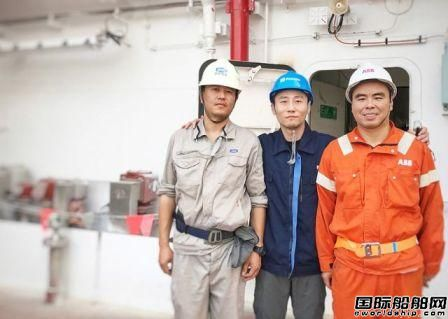 Roxtec EMC穿隔系统配套沪东中华新造LNG船