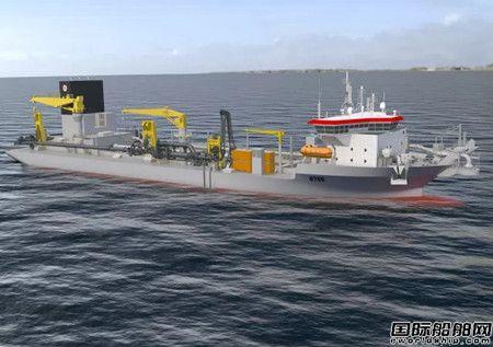 大连中远船务获18000方耙吸式挖泥船订单