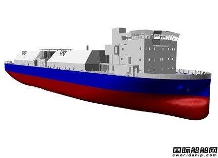 全球首艘无压载舱LNG加注船将诞生