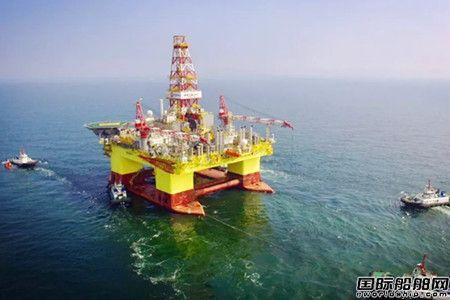 大船海工A5000型深水半潜平台完成海上闭环试验