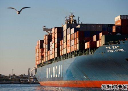 韩国船队在北美航运市场份额减半