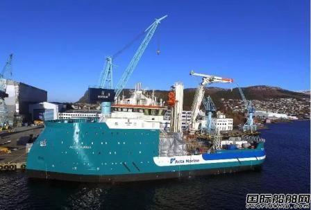 ULSTEIN船厂再接1艘海上风场建设支持船
