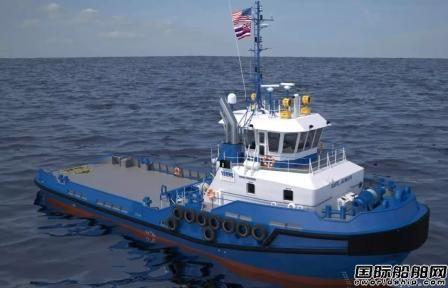 美国Conrad船厂获达门授权为当地市场建造拖轮