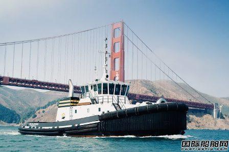 罗罗混合动力推进系统首获拖船合同