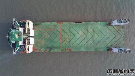 """再创纪录!""""新光华""""轮顺利潜装242米长浮船坞"""