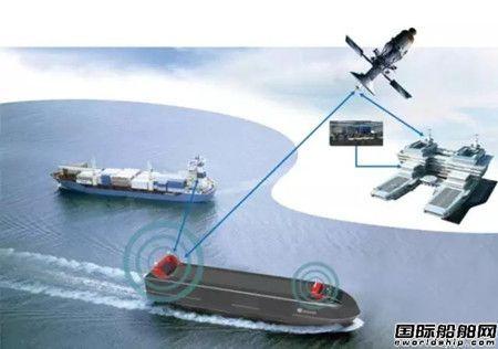 世界最大无人船海上测试场珠海启动