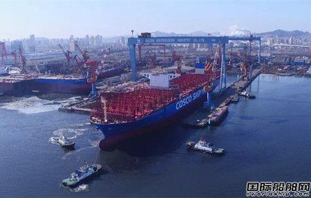 大船集团20000TEU集装箱船完成两大节点