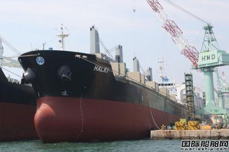 日本船企1月接单量超过韩国