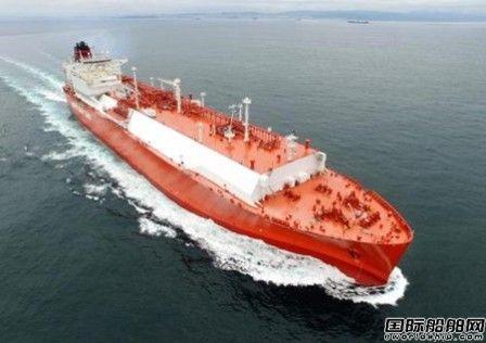 现代重工获2艘LNG船订单