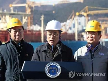 """韩国政府为船企接单""""松绑"""""""