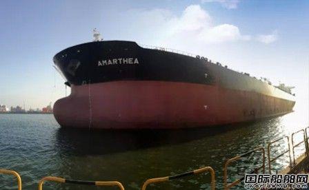大连中远海运重工11.3万载重吨原油轮完成试航