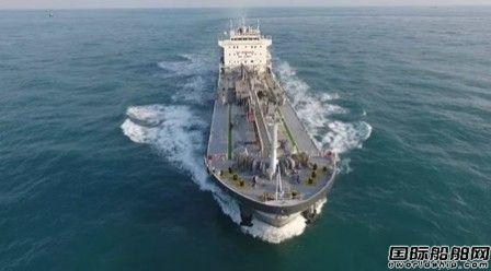 中船澄西2号7800吨沥青船命名交付