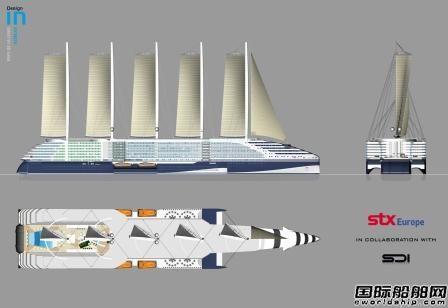STX法国推出风帆推进邮轮