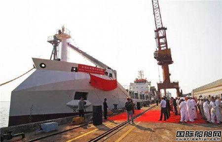 广新海工交付国内首艘果汁运输船