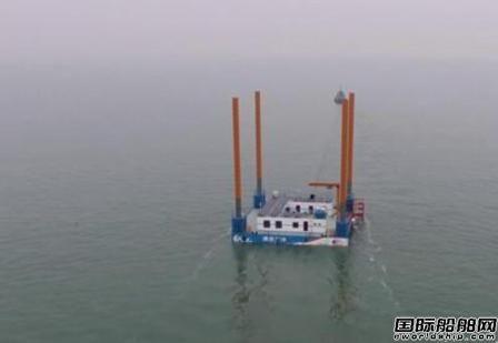 中集来福士第五座海洋牧场平台交付使用