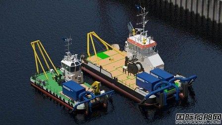 达门推出新型喷水式挖泥船