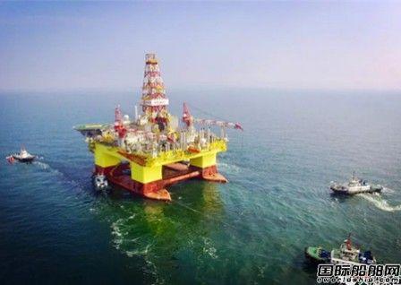 """大船集团成功交付""""海洋石油982"""""""