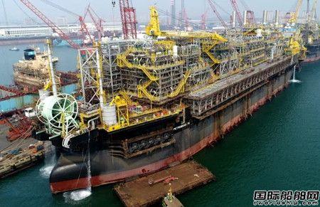 大连中远海运重工完成FPSO改装P75货油系统调试