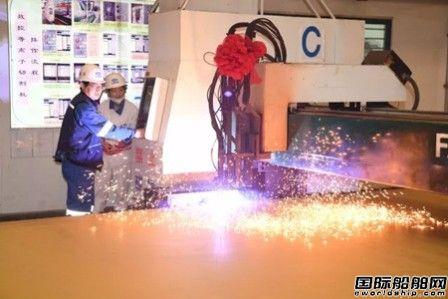 江南造船一艘84000立方米VLGC开工建造