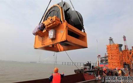 振华南通传动交付国内最大拉力绞车