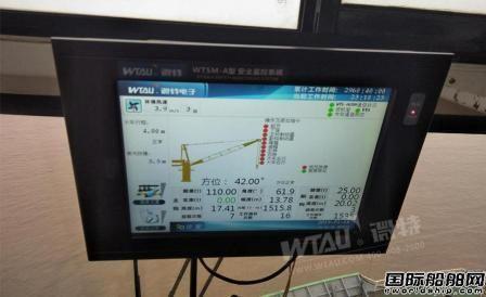 舟山港综合保税区码头完成码头门座机安全改造