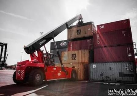 Kalmar向拉美市场推出新型集装箱堆码机