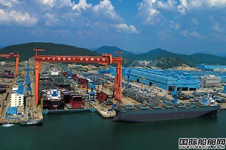 同比大增4倍!这家船厂在现代重工集团中接单最多