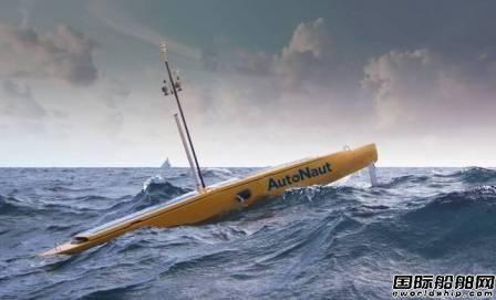AutoNaut无人船可以通过波浪获得推力