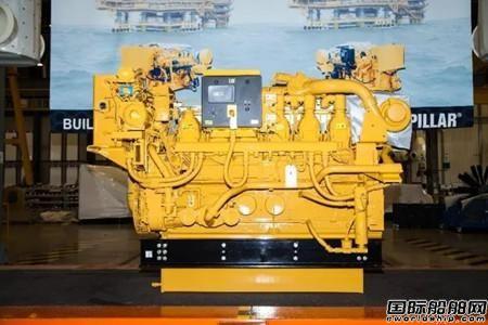 卡特彼勒首批海洋石油平台发动机正式下线