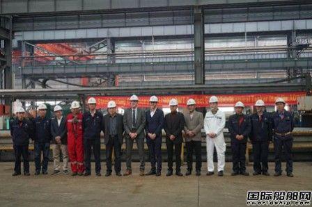 中航鼎衡7950吨不锈钢化学品船首制船开工