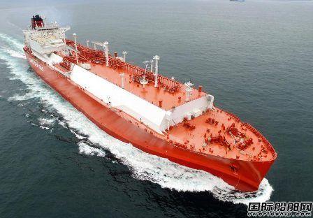现代重工获1艘18万立方米LNG船订单