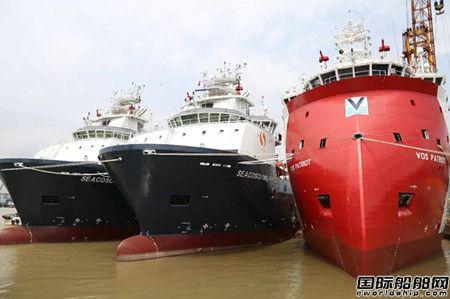 广东中远海运重工陆续交付12艘海工船