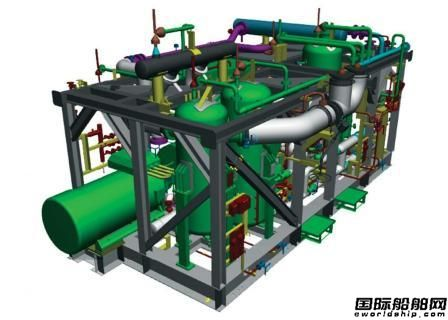 BABCOCK排气冷却器为2艘LPG船配套