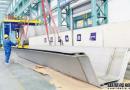 大明重工交付化学品船双相不锈钢船板