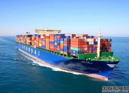 现代商船确认订造20艘超大型集装箱船