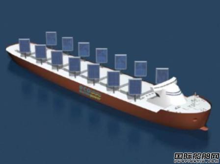日本公司将首次公开展示太阳能帆