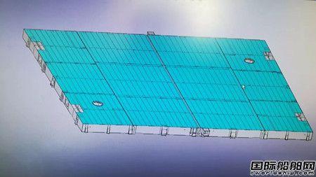大船集团船业公司舱口盖自主研发设计取得新突破