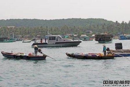 Metal Shark向越南海岸警卫队交付6艘巡逻艇