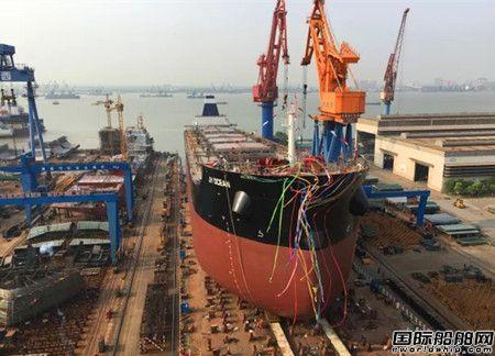 中船澄西开启8.2万吨散货船批量建造新时代