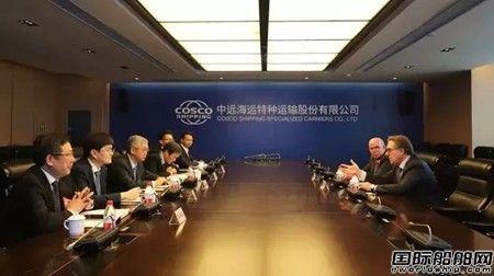 中远海运特运正式执行全球最大油气开发项目