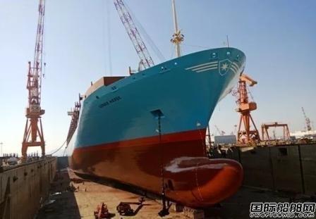 """大船船务圆满完成马士基""""格纳""""号特涂工程"""