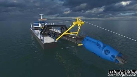 达门疏浚设备公司推出新型DOP挖泥船