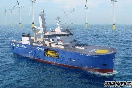 Bibby Marine订造1艘风电场服务运营船
