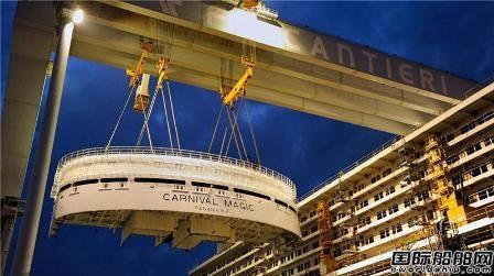 受益邮轮业务Fincantieri一季度收入增长