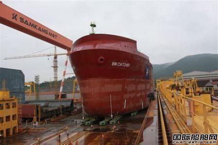 韩国Samkang船厂获4艘阿芙拉型油船订单