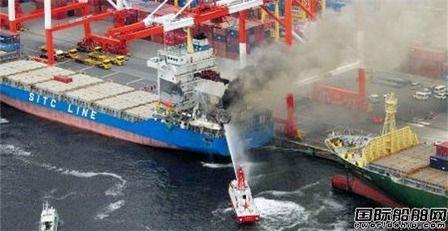 突发!两艘大型集装箱船在日本海域相撞