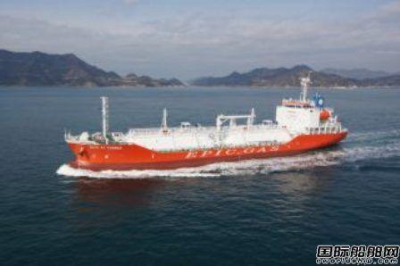 Epic Gas签订3艘LPG船收购回租协议