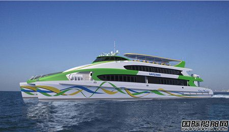 亚光科技签约2艘447客位高速客船