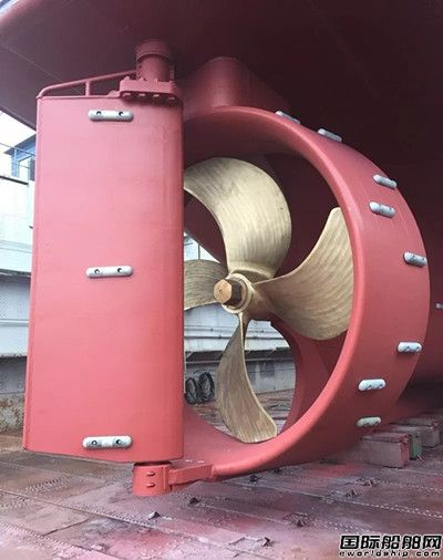 达门Optima双导流罩首次用于拖网渔船